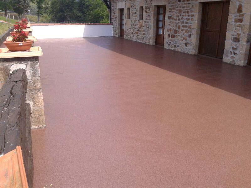 Terrazas impermeabilización poliurea son obras