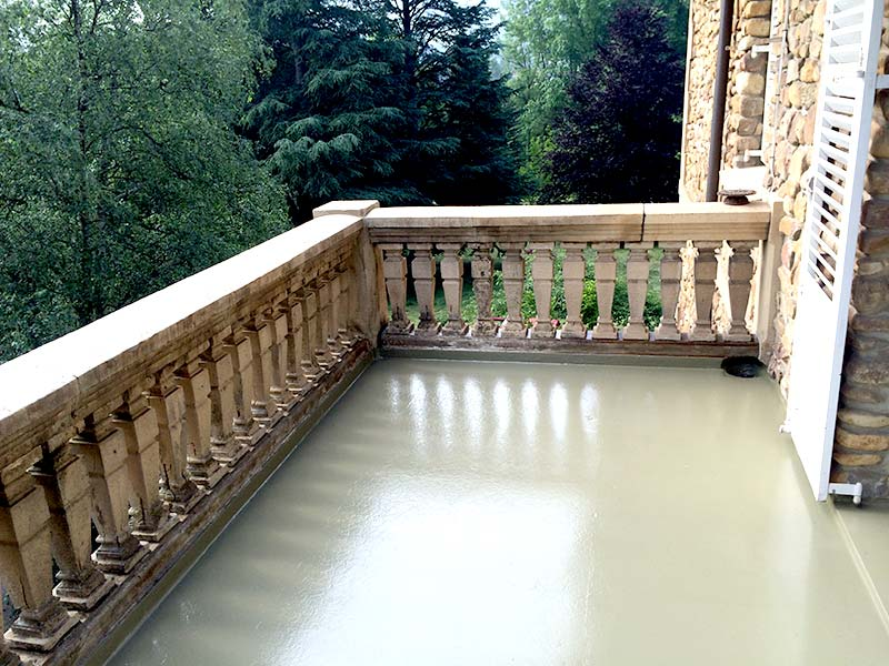 Terrazas impermeabilización poliurea
