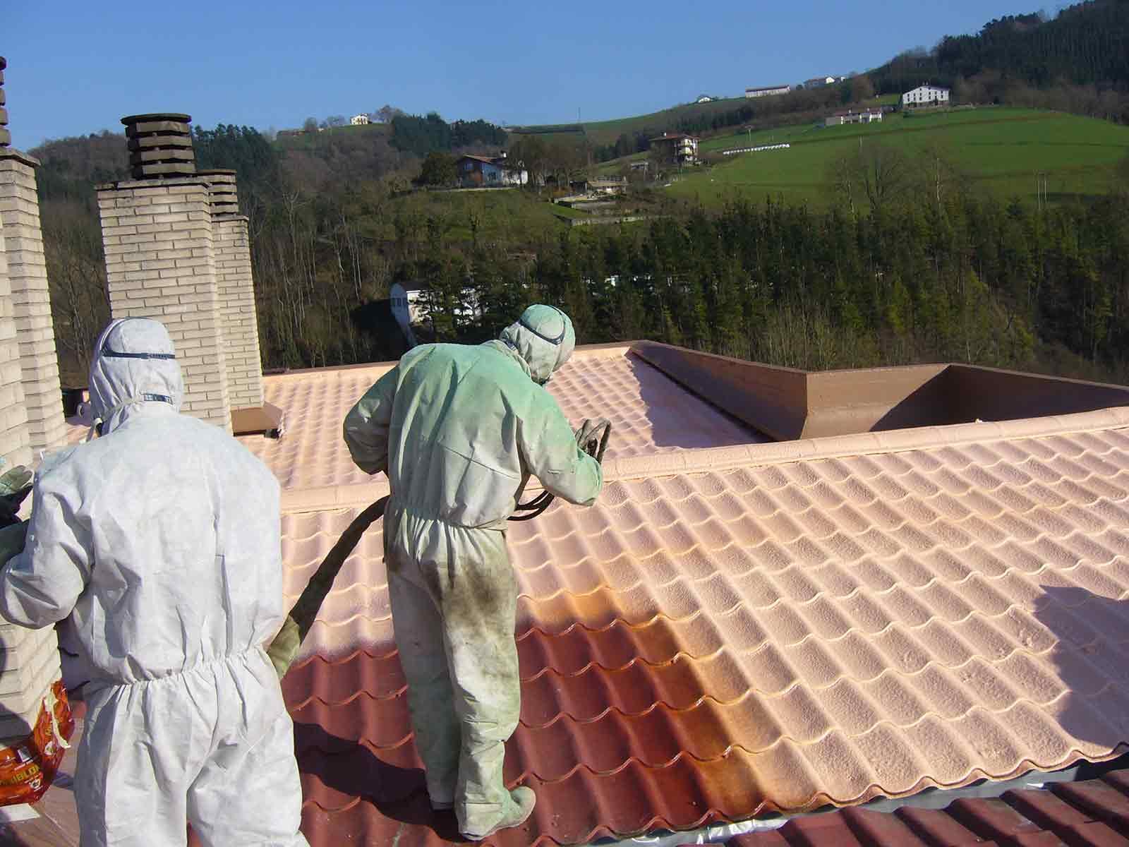 Aislamiento e impermeabilización de tejados
