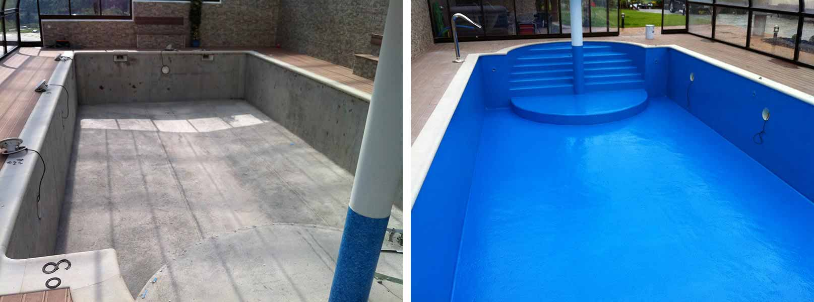 Aislamiento e impermeabilización de piscinas