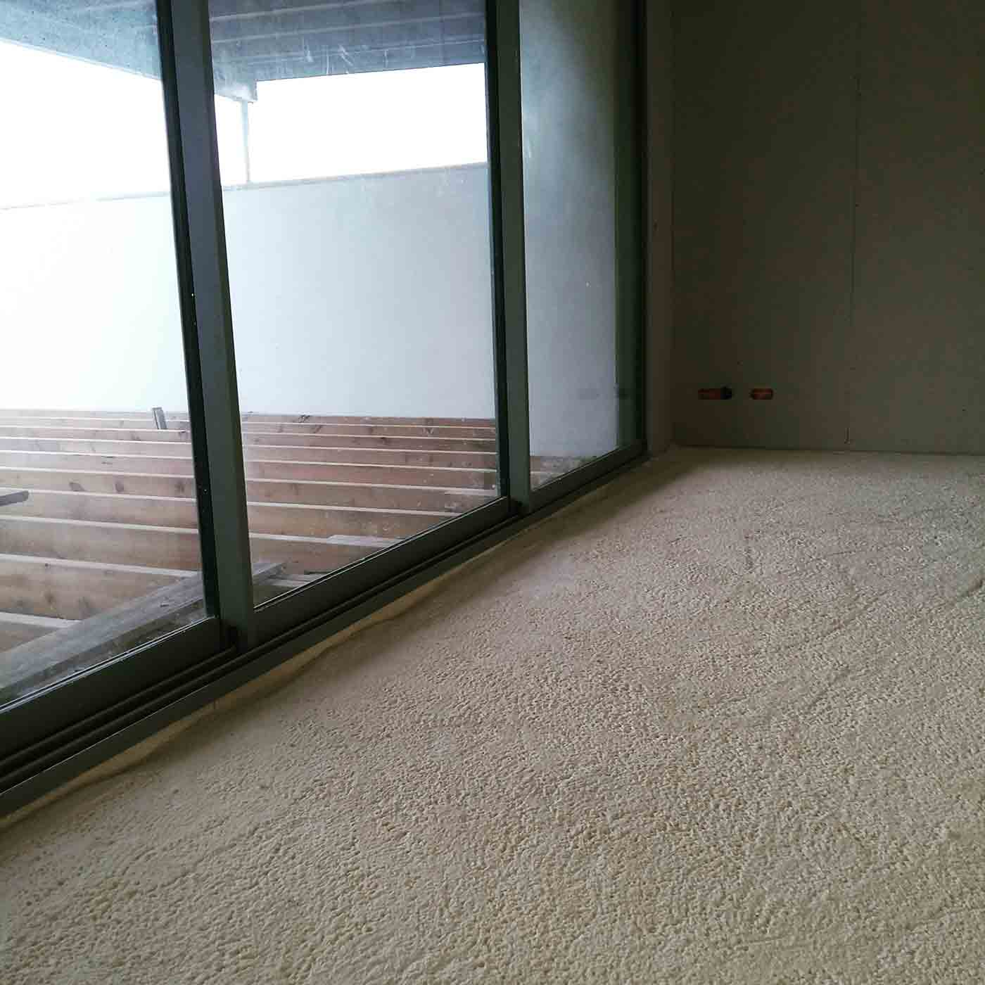 aislamiento suelo y paredes poliuretano mousse polyurethane