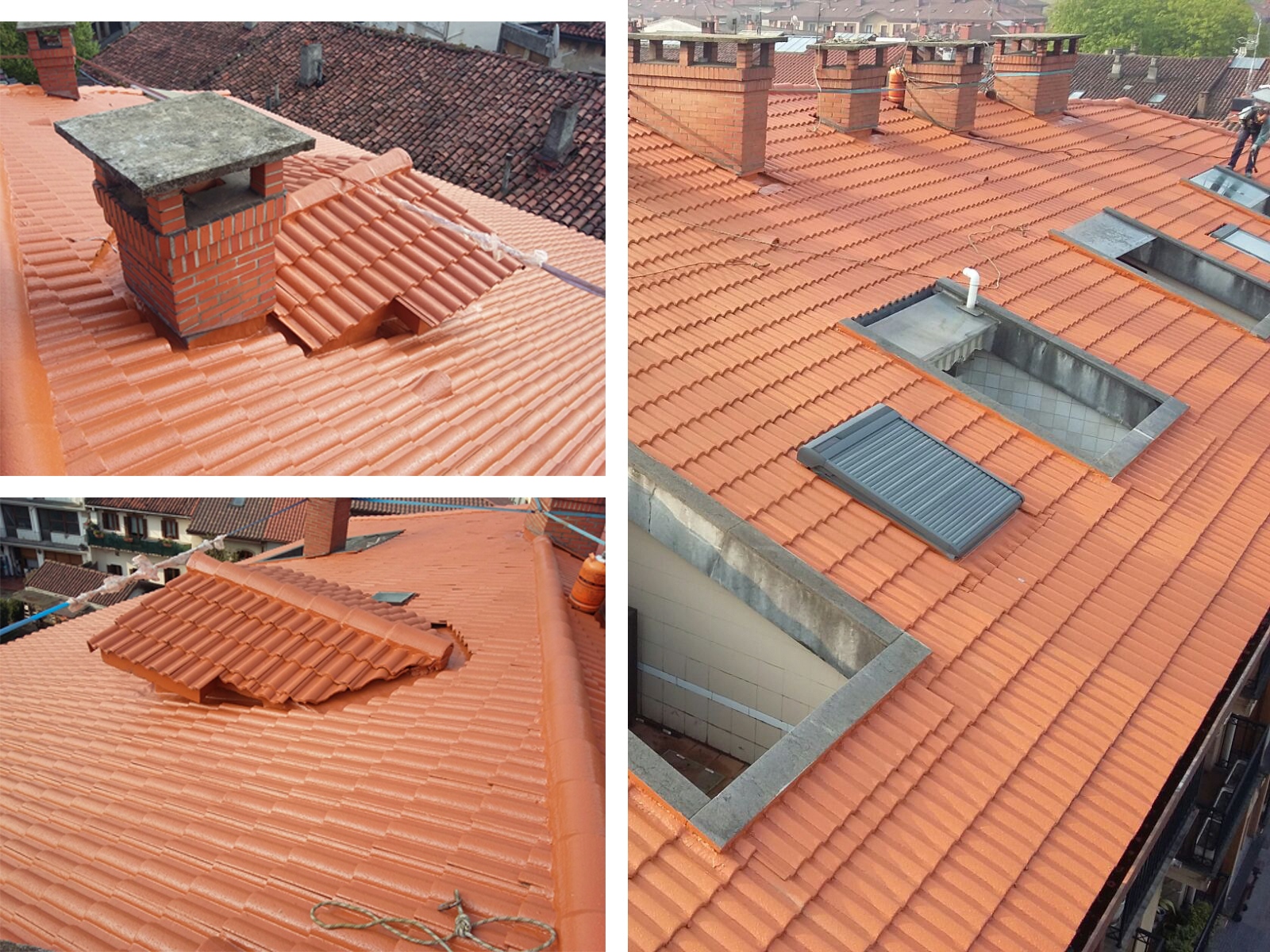 Aislamiento e impermeabilización de tejado