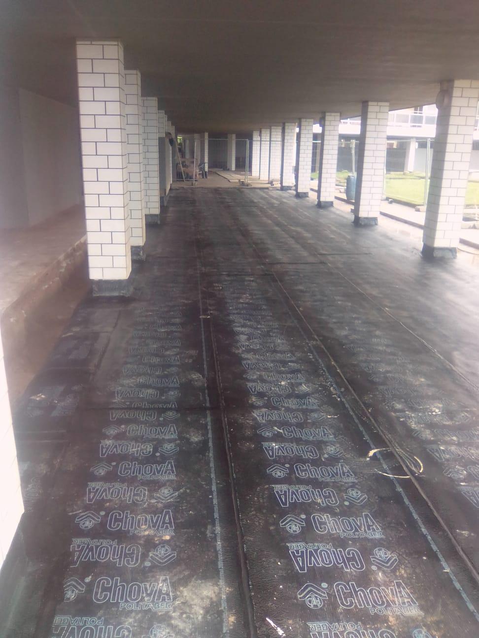 Rehabilitación de cubierta de lámina asfáltica impermeabilizacion
