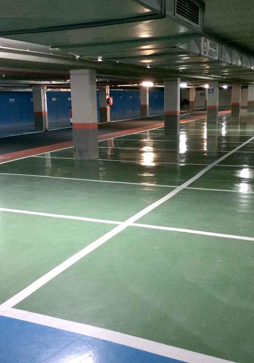 pavimento industrial suelo garaje resinas