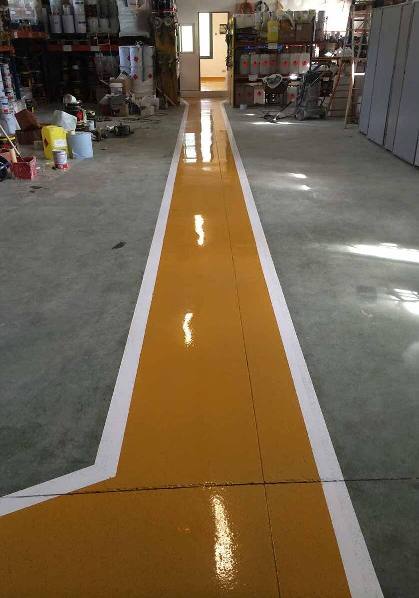 pavimento parking suelo industrial
